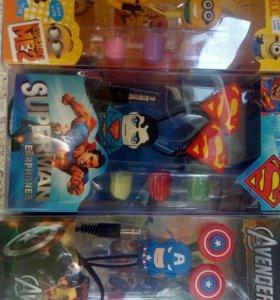 Новые для детей, супергерои мультфильмов