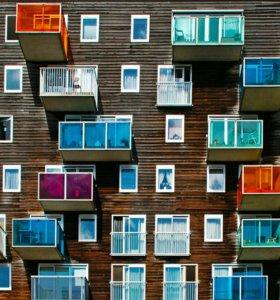 Окна ПВХ обшивка балконов и лоджий. ремонт окон
