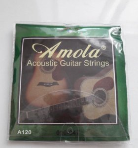 Комплект струн Amola для акустической гитары
