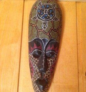 Маска из дерева.Привезена из Египта