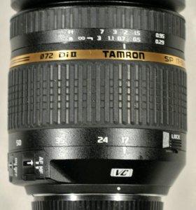 Tamron sp af 17-50 f/2.8 vc di II  for Nikon
