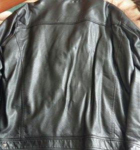 Кожаная куртка 52-54