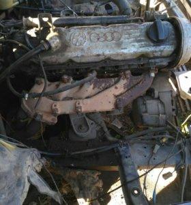 Двигатель КР на Ауди 100 (С3) по запчастям.