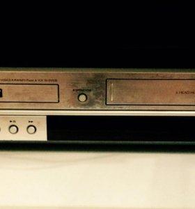 DVD VHS магнитофон Samsung