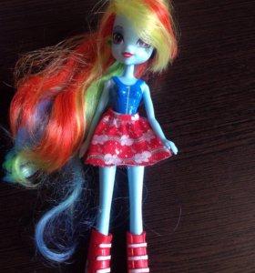 Кукла Rainbow Dash