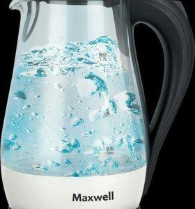 Чайник Maxwell MW-1070, cтекло, в упаковке