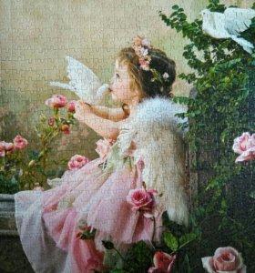 Очень красивые картины собранные из пазлов
