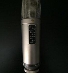 Студийный конденсаторный микрофон Rode nt-2a