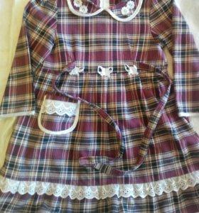 Платье на размер 116.