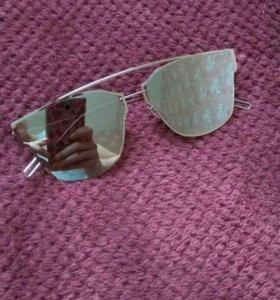 Очки солнечные зеркальные