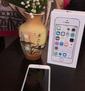 iPhone 5s 16gb на гарантии
