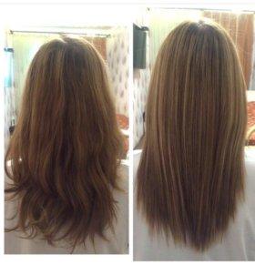 Ботокс,лечение,выпрямление волос