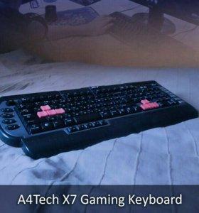Игровая клавиатура A4Tech X7