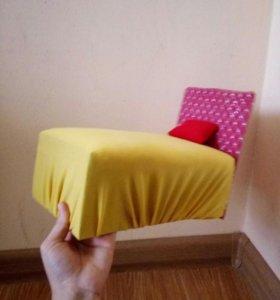 Кровать для кукол.(кукла не продается!)