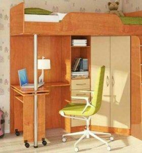 Мебель детская с матрасом.