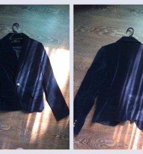 Пиджак 42-44-46 бархат