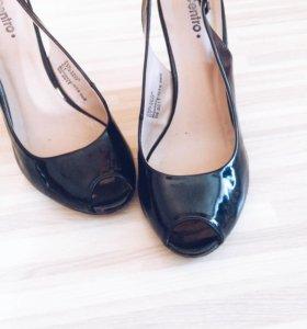 Туфельки на платформе