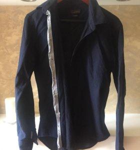 Рубашка Zara man black tag
