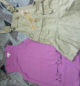 Одежда на девочку 104-110 р