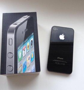 iPhone 4 black 8 gb iOS 6.1.3