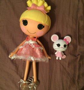 Кукла Лалалупси с питомцем 32 см