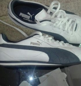 Кожаные кроссовки мужские Puma original новые