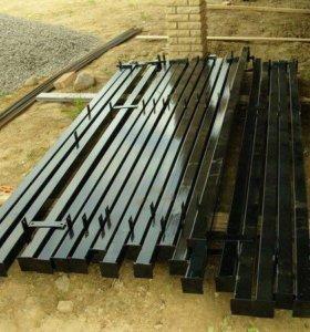 Столбы с крепежом под любой забор