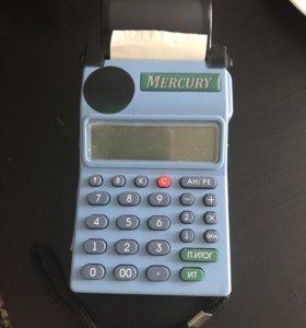Кассовый аппарат(машина) Меркурий 180К без ЭКЛЗ