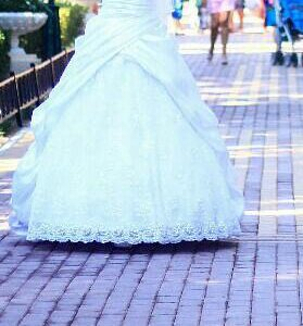 Свадебное платье Пышное