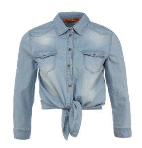 Женская джинсовая рубашка befree