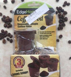 Многоразовые капсулы для кофе-машины