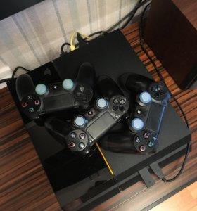 PlayStation 4. PS4. 500Гб HDD