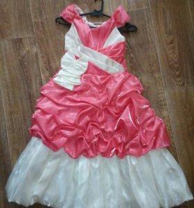 Бальные платья на девочку прокат продажа
