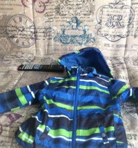 Куртка на мальчика 86 р