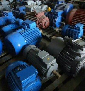Электродвигатели, редуктора, насосы