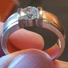 Кольцо с бриллиантом 1,09ct