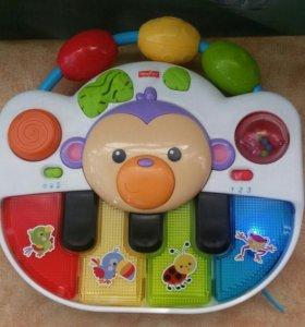 Пианино на коляску