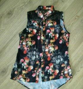 Блуза блузка рубашка женская oasis