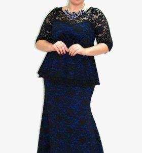 Вечернее платье 👗 размер 58/60
