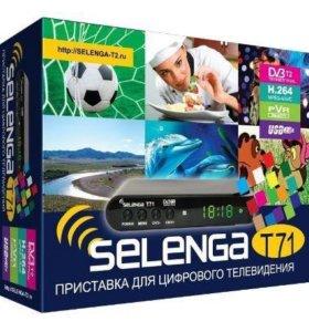 Ресивер DVB-T2 Selenga T71