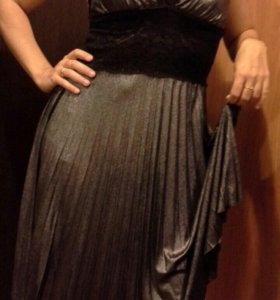 Очень красивое платье,торг.