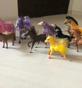 Лошади и куклы
