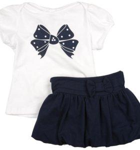 Комплект ( футболка и юбка)