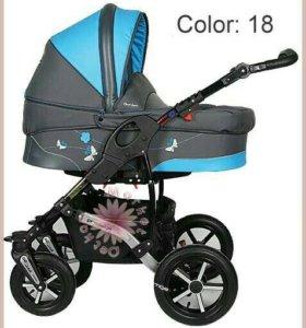 Детская коляска Dorjan Butterfly 2 в 1
