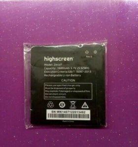 Батарея Highscreen Zera F Rev S