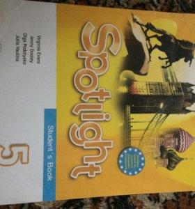 Учебник по английскому (spotlight 5класс)