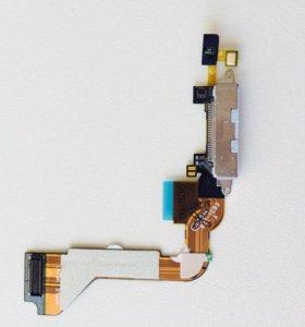 Шлейф зарядки iPhone 4