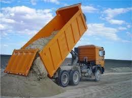 Доставка песок щебен торф чернозём вывоз мусора