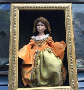 Старинная кукла (фарфор)