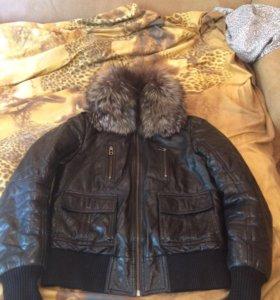 Куртка кожа-натуральная (торг)
